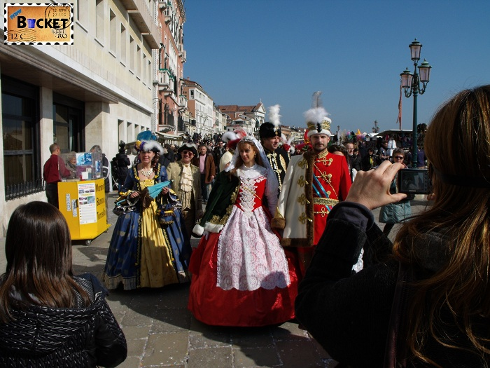 Carnavalul de la Venetia -  costum
