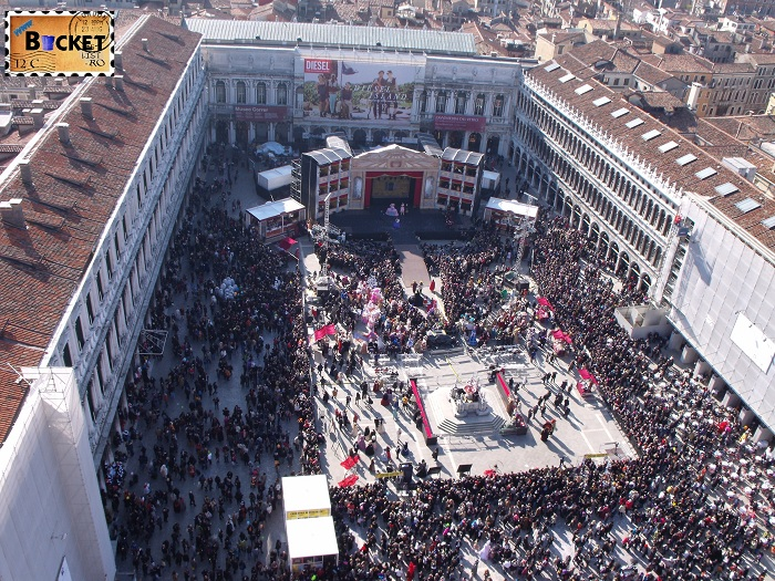 Carnavalul de la Venetia - Piata San Marco