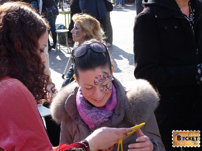 Carnavalul de la Veneţia - Body painting