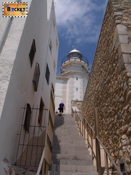Cetatea Peniscola Spania - Far