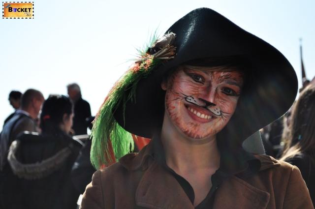 pictură pe faţă şi măşti la  carnavalul de la Veneţia