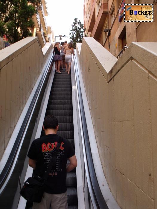 Parc Guell Barcelona  - Baixada Gloria