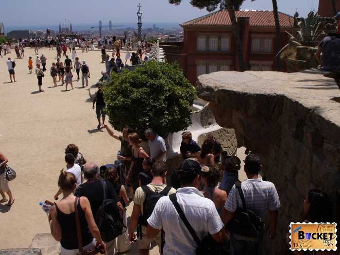 Parc Guell Barcelona - Piaţa Naturii