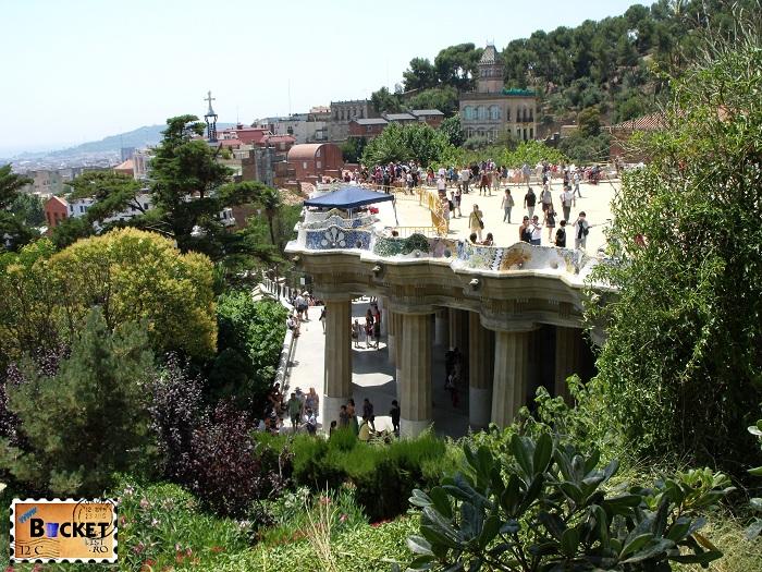 Parc Guell Barcelona - Sala Hipostilei