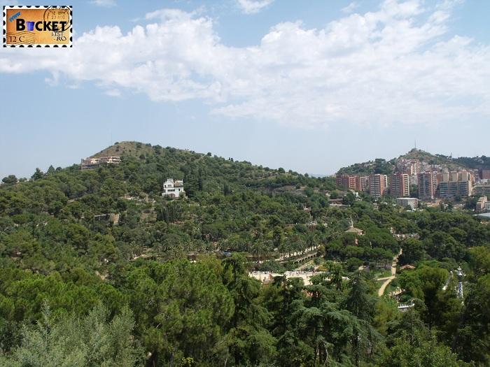 Parc Guell Barcelona - vedere generală