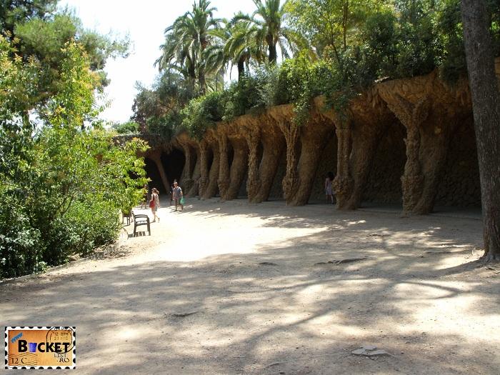 Parc Guell Barcelona - viaducte