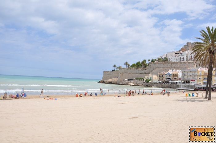 Plaja Peniscola Spania