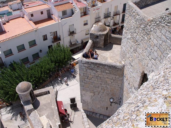Vedere panoramica Cetatea Pensicola Spania
