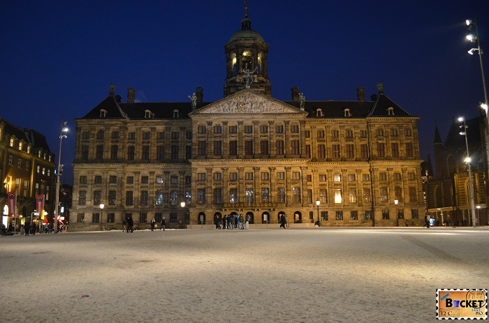 Royal Palace Amsterdam - plan de calatorie