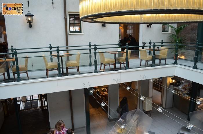 Unde să mănânci în Amsterdam - Etaj 2 Restaurant La Place