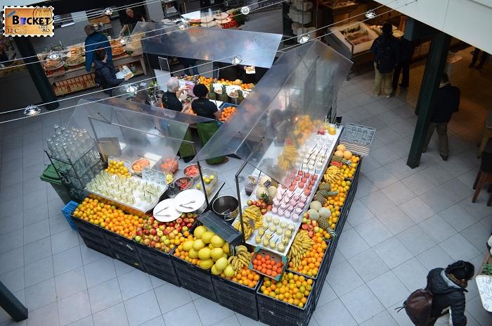 Unde să mănânci în Amsterdam - Zona de fresh-uri La Place