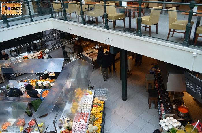 Unde să mănânci în Amsterdam - Etaj 2 si bucataria din La Place