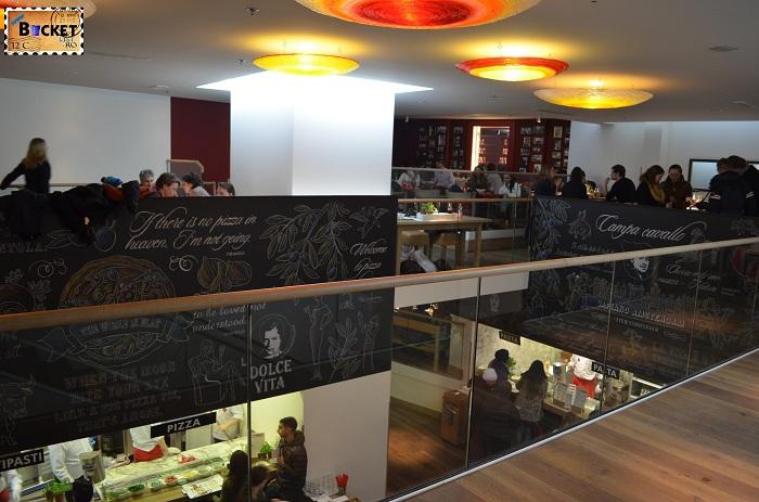 Restaurant Vapiano, locul unde să mănânci în Amsterdam foarte bine