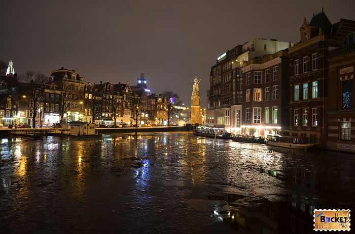 Amsterdam - winter night