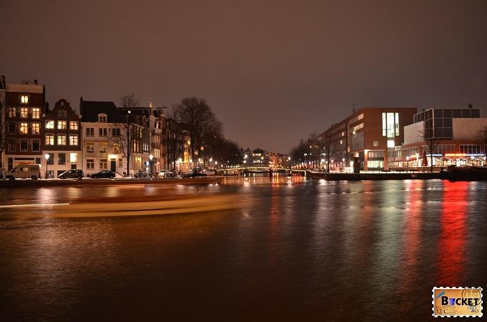 Amsterdam - peisaje de noapte