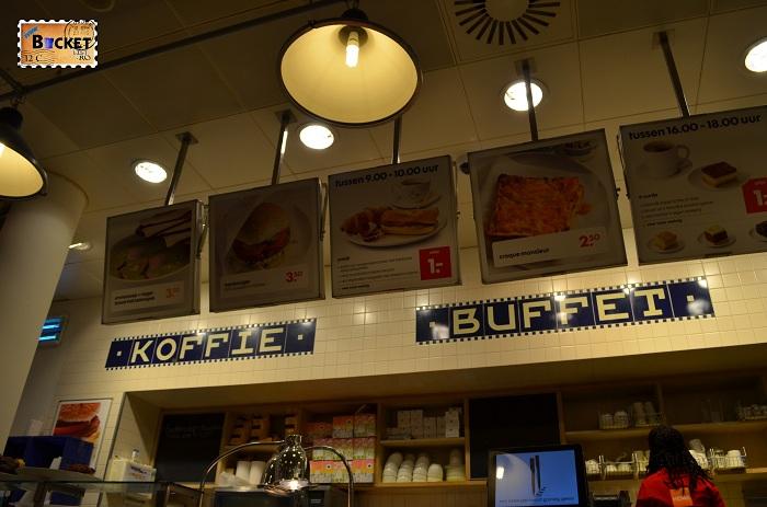 Unde să mănânci în Amsterdam - HEMA buffet