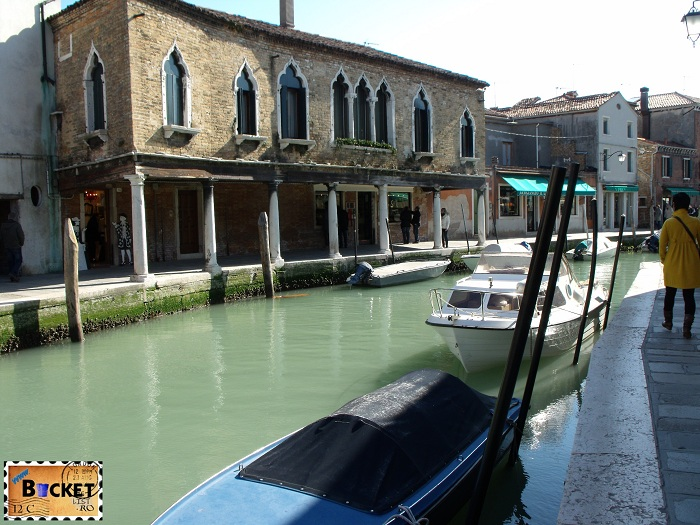 Venetia - Insula Murano Ca'Corner secolul XIV