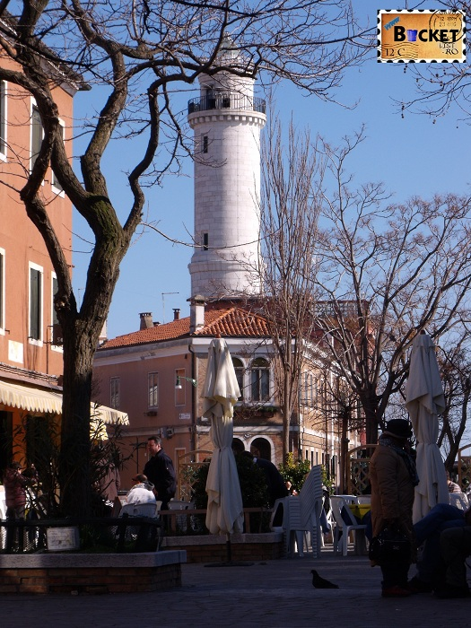 Venetia - far pe insula Murano