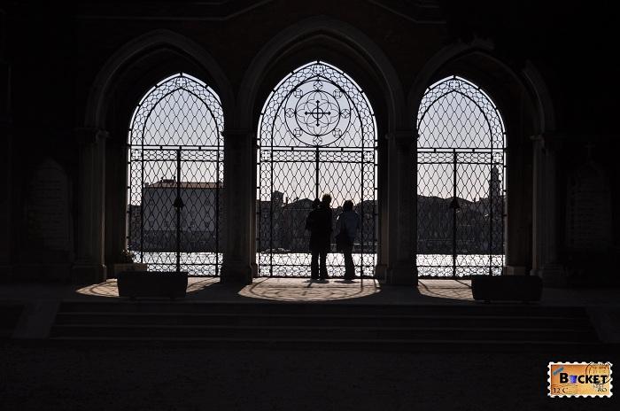 San Michele - cimitir  vedere spre Venetia