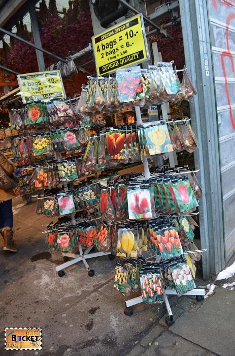 Bloemenmarkt, bulbi de flori din Amsterdam