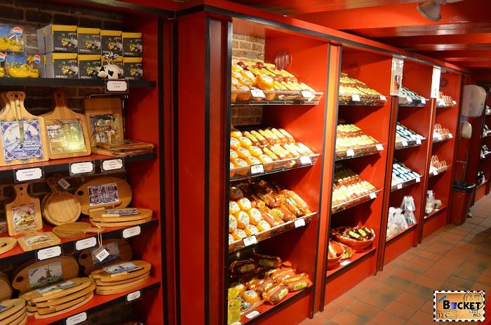 Produse tradiţionale din Amsterdam - Magazinul Kaaskelder
