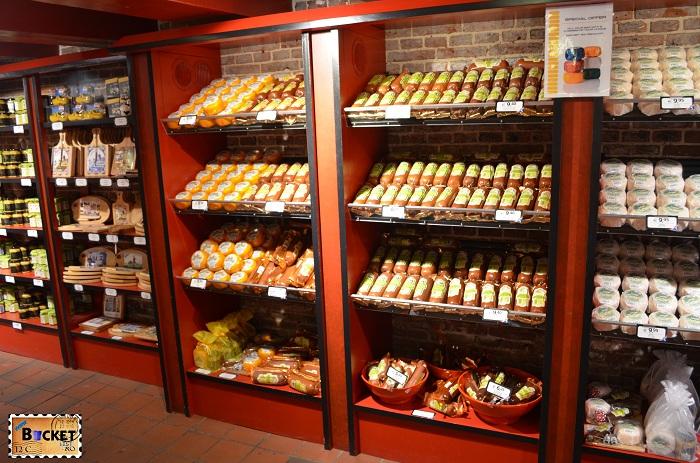 Magazinul Kaaskelder - Produse tradiţionale din Amsterdam