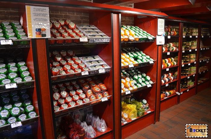 Magazinul Kaaskelder - Amsterdam
