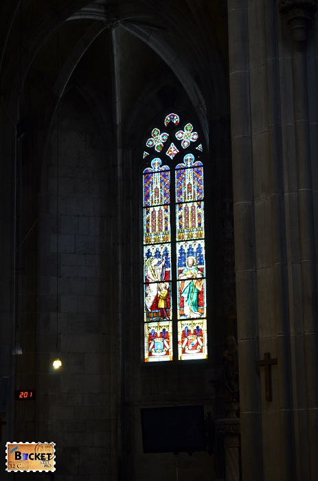 Vitraliu catedrală Kosice, Slovacia