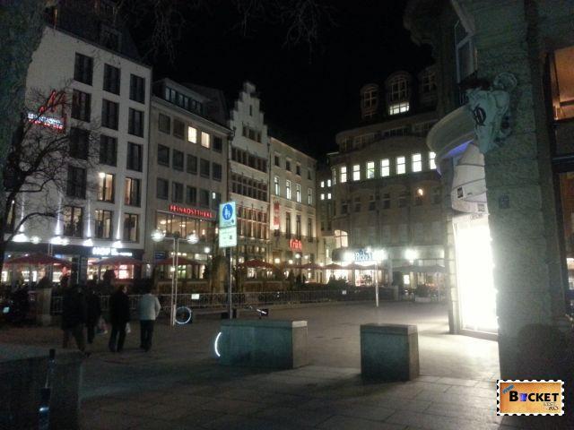Peisaje de noapte - Orase din Germania - Koln
