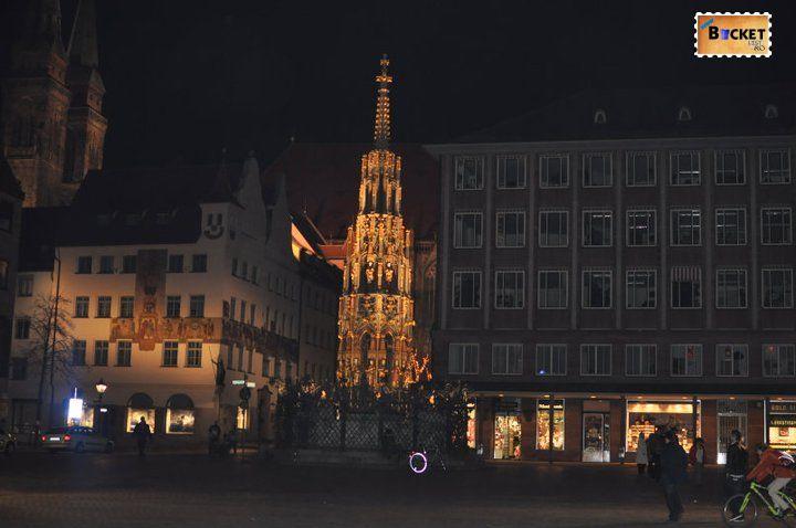 Peisaje de noapte - Orase din Germania - Nuremberg