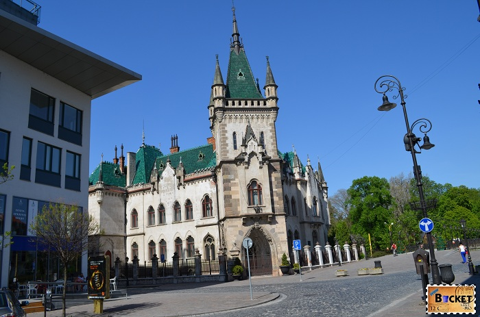 Palatul Jakab -Kosice, capitala cultural europeană pentru 2013