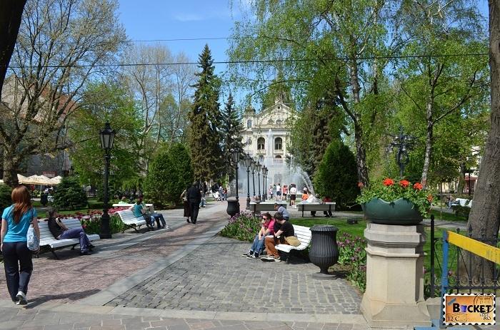 parc fantana muzicala - Kosice, capitala cultural europeană pentru 2013