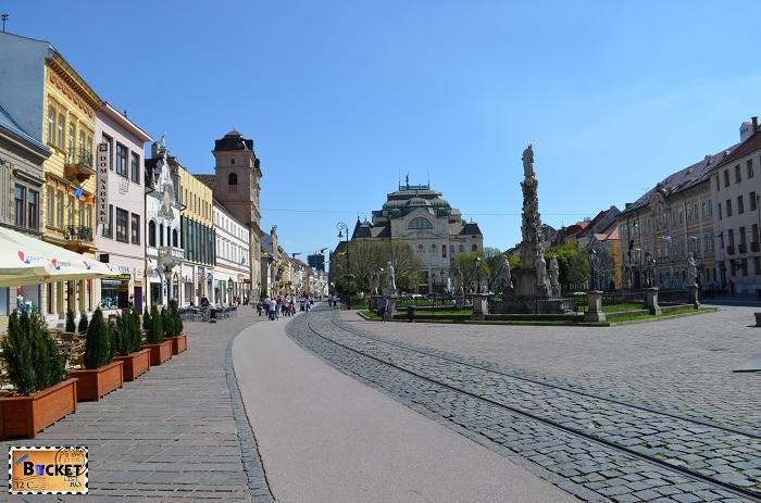 strada Hlavna - Kosice, capitala cultural europeană pentru 2013