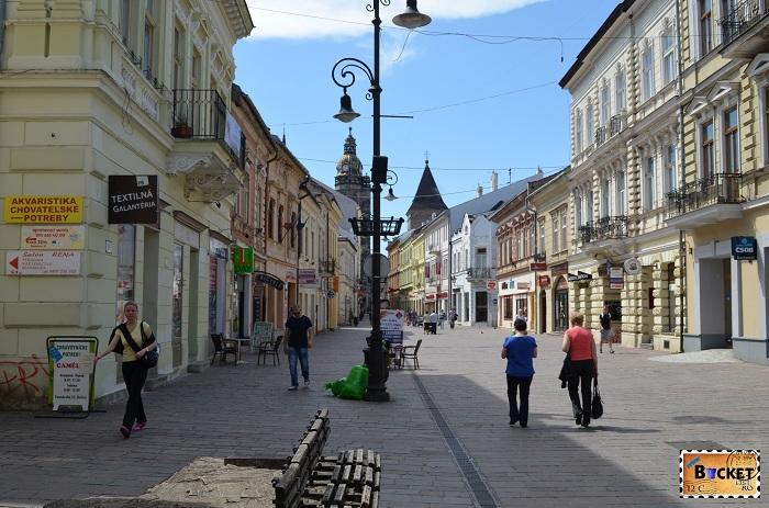 strada Mlynská - Kosice, capitala cultual europeană  2013