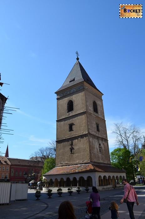 turnul sfântului Urban - Kosice, capitala cultural europeană pentru 2013