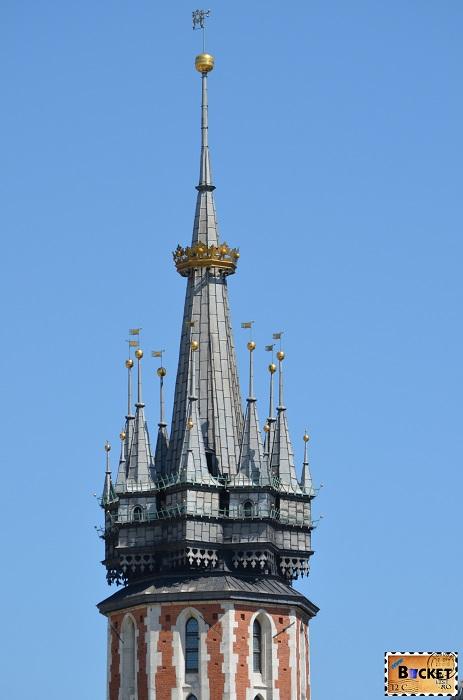 Bazilica Sf. Maria din Cracovia - Turnul Goarnei