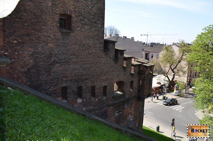 Castelul Wawel Cracovia -  caponieră