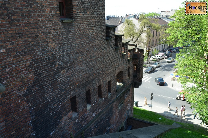Castelul Wawel Cracovia -caponiera