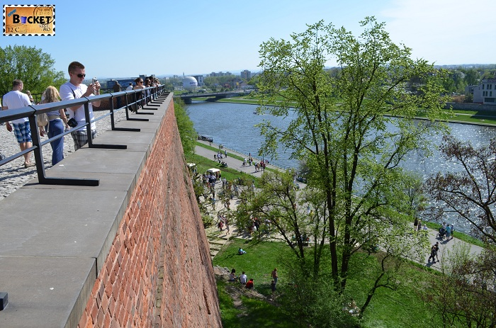 Castelul Wawel Cracovia -  platforma castel