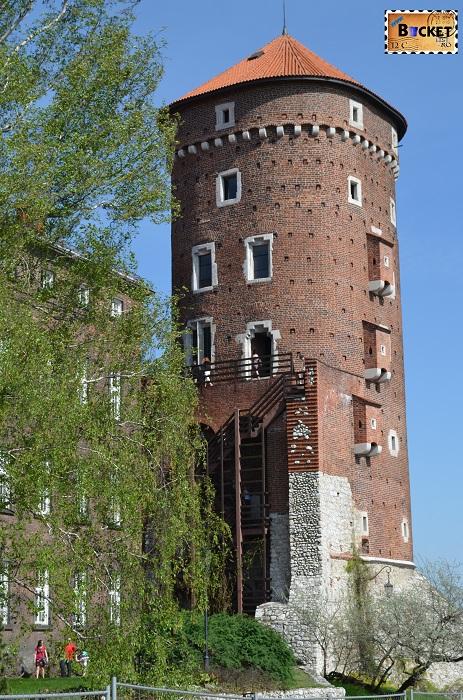 Castelul Wawel Cracovia -  turnul Sandomierska