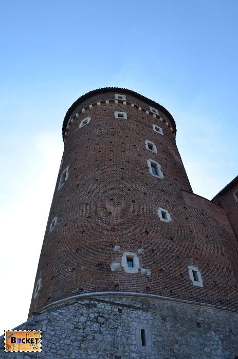 Castelul Wawel Cracovia -turnul Sandomierska
