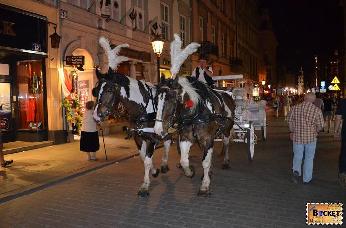 Cracovia - Caleasca trasa de cai