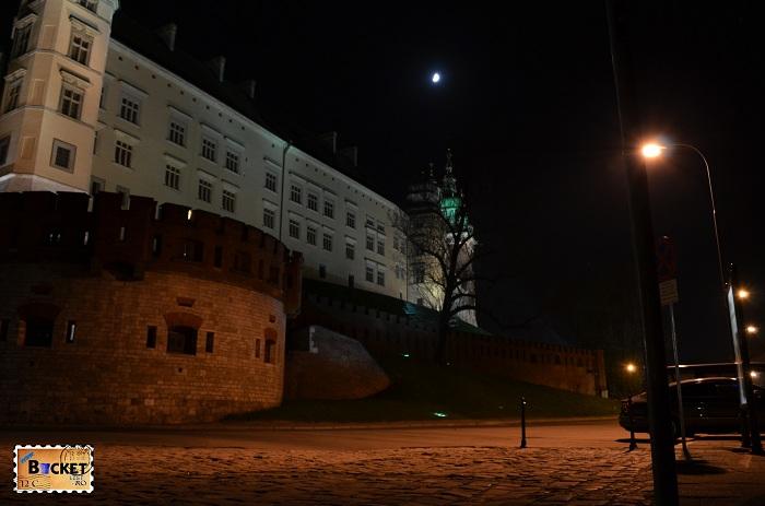 Cracovia - peisaje de noapte Castelul Wawel (2)
