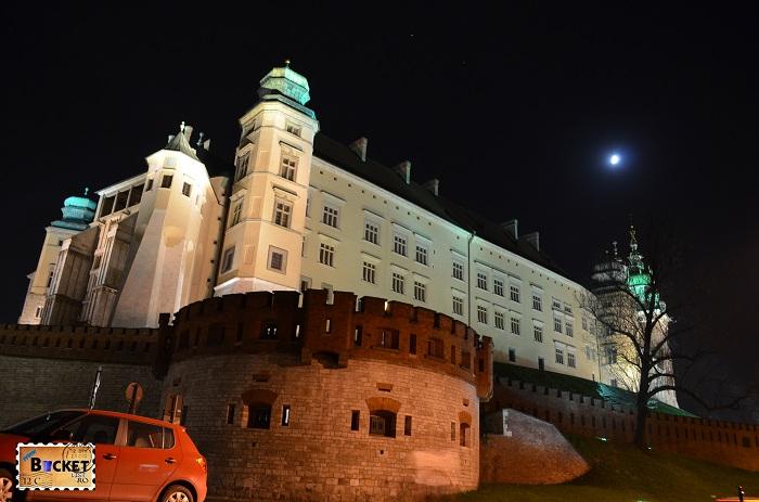 Cracovia - peisaje de noapte Castelul Wawel (3)