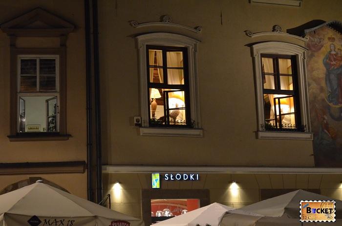 Cracovia - peisaje de noapte - Rynek Główny (3)