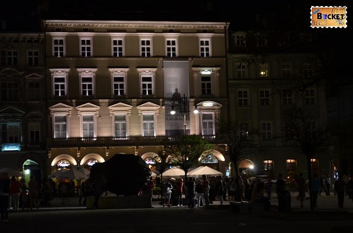Cracovia - peisaje de noapte - Rynek Główny (4)