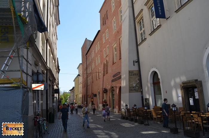 Magazin de suveniruri Cracovia - Ulica Sienna