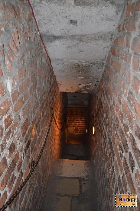 Scările din turnul primariei din Cracovia