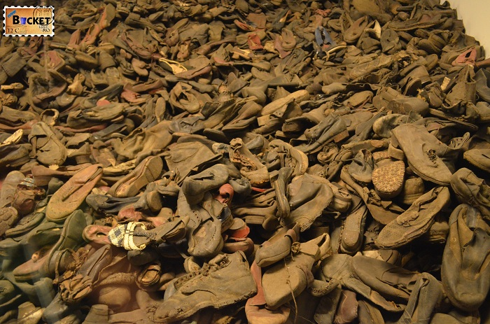 Auschwitz I - Baraca nr  5 - Evidence of crime