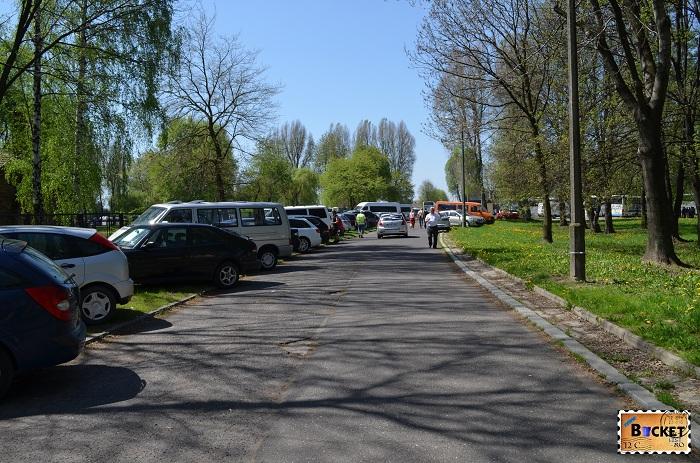 Auschwitz I  - parcare